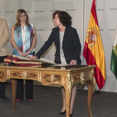 Susana Díaz anuncia el pago de matrículas universitarias hasta en ocho plazos y la vuelta a los precios de 2011