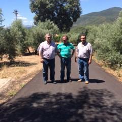 Finaliza el asfaltado de acceso a la aldea de La venta de Hornos de Segura