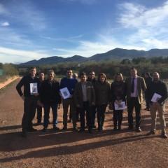 Diputación entrega los planes de evacuación de la Vía Verde del Segura