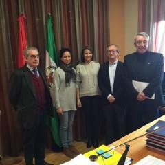 La Federación Taurina de Jaén mantiene un encuentro con la Junta