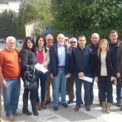 El PP de la Sierra de Segura, con Fernández de Moya