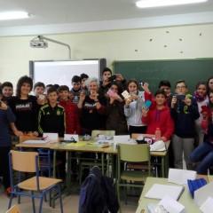 Escolares de Arroyo del Ojanco participan en cortometrajes para el fomento de la igualdad