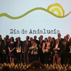Entregan las Banderas de Andalucía 2017