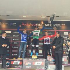 Tiago Ferreira y Raiza Goulao ganan la Andalucía Bike Race