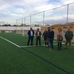 256.000 euros para la mejora del campo de fútbol de Castellar
