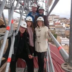 Avanza la rehabilitación de la Iglesia de Santa María la Mayor de Linares