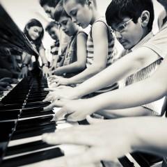 Curso de iniciación a la música para niños de la Fundación Barenboim-Said