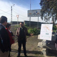 Mejora de la seguridad vial en el acceso a la estación de Espeluy