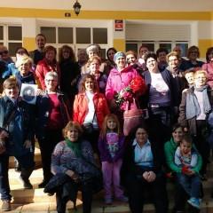 Encuentro intergeneracional en la Residencia de Mayores de Siles