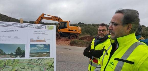 El carril bici La Puerta de Segura y Puente de Génave conectará con el Camino Natural de Segura