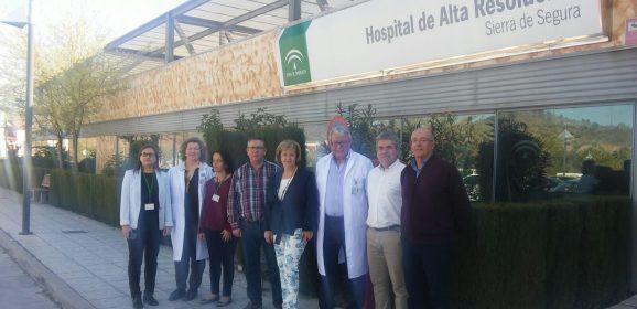 El Hospital de Alta Resolución Sierra de Segura, pionero en el estudio de patologías oculares